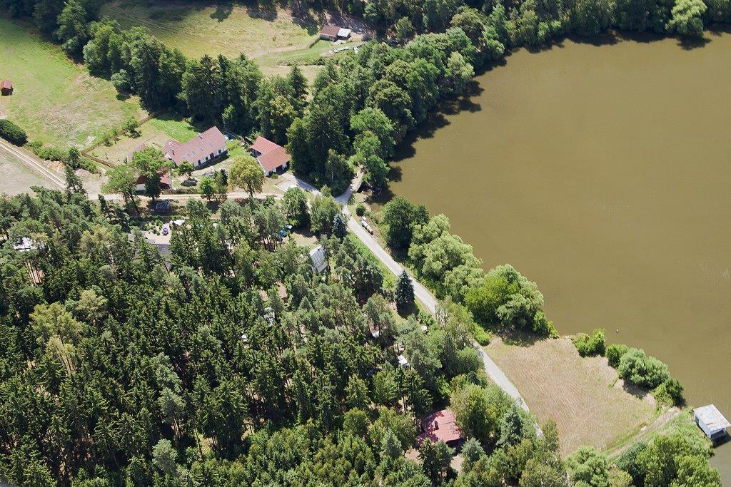 Letecký snímek našeho domova